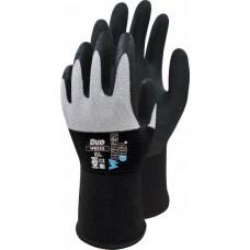 WG555 Duo, Nylon-Handschuh mit Nitril Gr. 10/XL