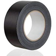Gewebeband Gaffa 50 mm schwarz-matt